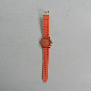 Darice Womens Salmon Silicone Watch s1